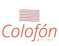 Logo Colofón Print