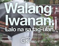 Umbrella Design : Walang Iwanan, lalo na sa tag-ulan.