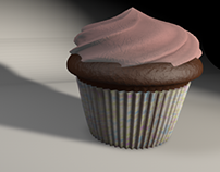Cupcake in C4D
