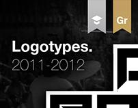 Logotypes. 2011-2012.