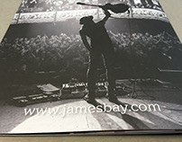James Bay Tour Programme & Merchandise