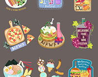 Melbourne Food Stickers | Snapchat