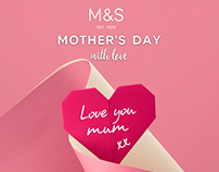 M&S Mothers Day with Love - 2017