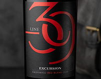 Line 39 (O'Neill Vintners) Wine Packaging & Logo Design