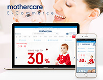 Mothercare TR E-Commerce Website - 2016 [RND]