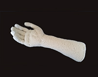 Crocheted Hand and arm