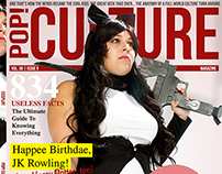 Cosplay Magazine Cover
