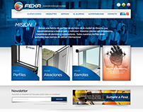 Diseño web Fexa