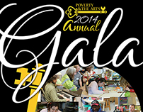Poverty & The Arts - 2014 Gala Poster Redesign