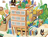 RabbitPoop in UN Bookstore