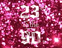 23rd at the 90's