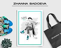 Zhanna Badoeva Shoes - Fashion Illustration