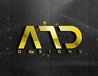 AMD Designs Logo Gold