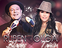 Olga Tañón y Ruben Blades, homenaje día de las madres.