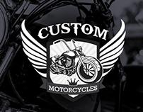 Diseño de marca - Custom Motorcycles