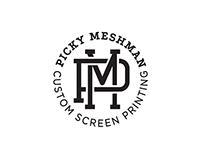 Picky Meshman Branding