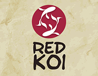MENU RED KOI