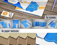 Stationery / File Folder Mock-up