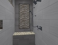 Shower Tile Design Option