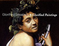 Glorified Sneakers + Glorified Paintings