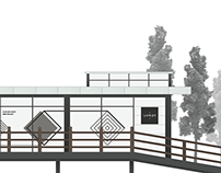 Museum cafeteria & main gate concept design