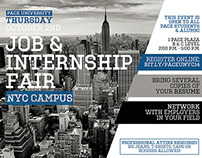 Pace University Fall 2014 Job & Internship Fair