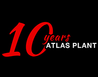 Atlas Methanol Plant - Ten Year Anniversary Logo