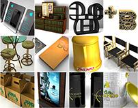 Projetos 3D diversos