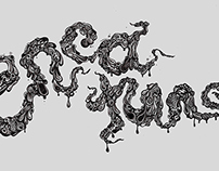Creature Custom Lettering