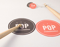 Pop Drumming Sticks, Package Design