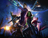"""""""Guardians of the Galaxy"""" Social Campaign"""