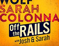 Off the Rails with Josh & Sarah show logo