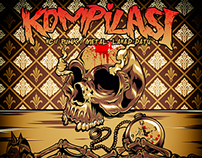 KOMPILASI HC / PUNK / METAL LAHAD DATU (cd album)