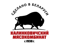 Logo for belorus meat processing plant