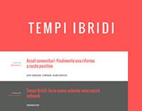 Tempi Ibridi - Blog