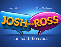 Josh and Ross logo/ads