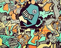 Streetart Creature City