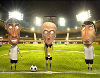 Mobinil Football Ad