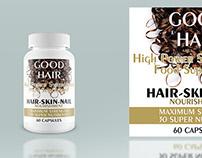 GOOD HAIR ( Label Design )