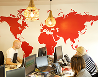 Havas Media- Office graphics