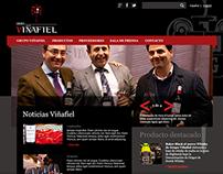 Diseño web de Grupo Viñafiel