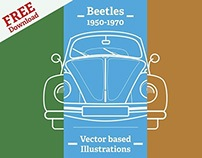 Beetles - Free Downloadable Vectors