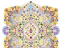 Emoji Mandala no.1