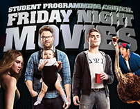 SPC Friday Night Movie flyer
