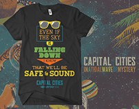 Capital Cities concert shirt