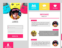 Superhero Themed UI Design - Jubilee