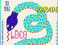 Loco Zinneke Parade Poster