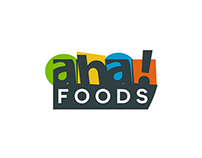 aha!FOODS - Logo and Branding.