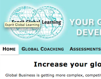 Esprit Global Learning website