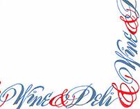 Wine & Deli restaurant project